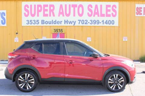 2018 Nissan Kicks for sale at Super Auto Sales in Las Vegas NV