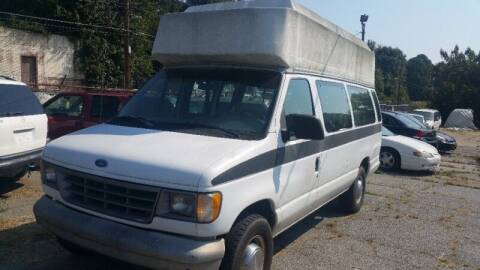 1994 Ford E-350 for sale at DREWS AUTO SALES INTERNATIONAL BROKERAGE in Atlanta GA