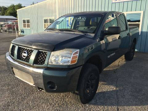 2006 Nissan Titan for sale at JEFF LEE AUTOMOTIVE in Glasgow KY