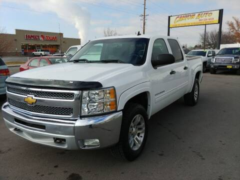 2012 Chevrolet Silverado 1500 for sale at Canyon Auto Sales in Orem UT