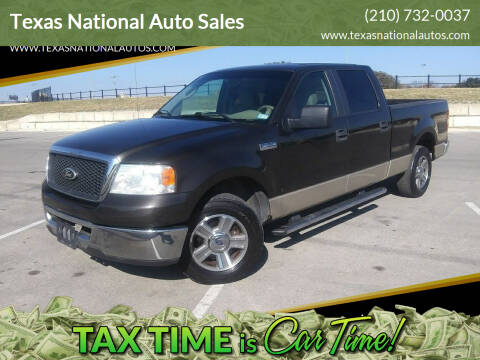 2007 Ford F-150 for sale at Texas National Auto Sales in San Antonio TX