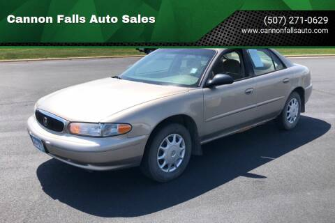 2003 Buick Century for sale at Cannon Falls Auto Sales in Cannon Falls MN