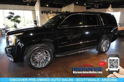 2018 GMC Yukon for sale at Discover Pre-Owned Auto Sales in Scottsdale AZ