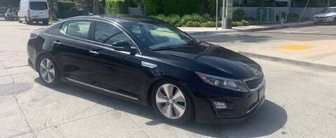 2014 Kia Optima Hybrid for sale at Good Vibes Auto Sales in North Hollywood CA