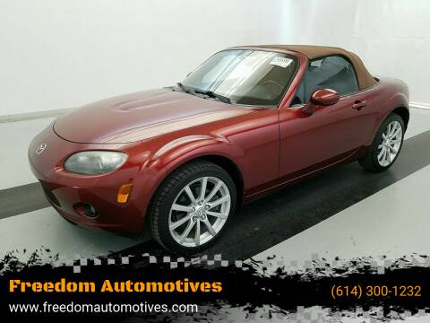 2008 Mazda MX-5 Miata for sale at Freedom Automotives in Grove City OH