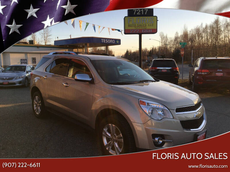 2012 Chevrolet Equinox for sale at FLORIS AUTO SALES in Anchorage AK