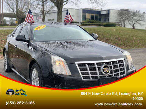2012 Cadillac CTS for sale at New Circle Auto Sales LLC in Lexington KY