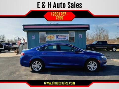 2016 Chrysler 200 for sale at E & H Auto Sales in South Haven MI