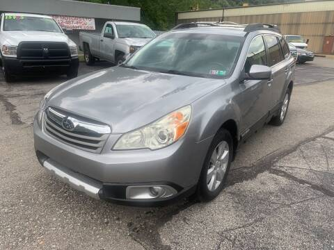 2011 Subaru Outback for sale at B & P Motors LTD in Glenshaw PA