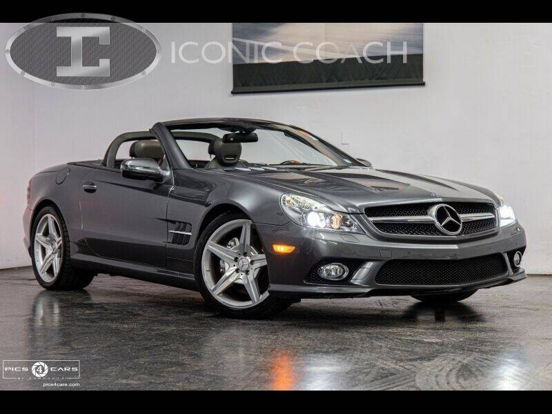 2009 Mercedes-Benz SL-Class for sale at Iconic Coach in San Diego CA