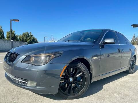 2009 BMW 5 Series for sale at Car Time Inc in San Jose CA