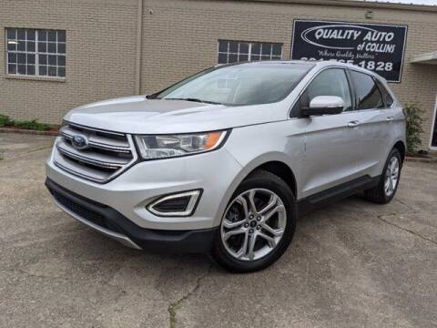 2017 Ford Edge for sale at Quality Auto of Collins in Collins MS