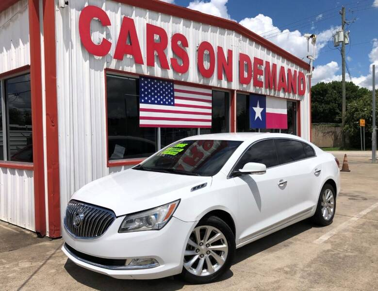 2015 Buick LaCrosse for sale at Cars On Demand 3 in Pasadena TX