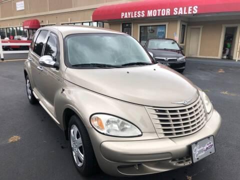 2004 Chrysler PT Cruiser for sale at Payless Motor Sales LLC in Burlington NC