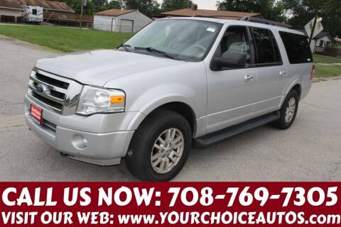 2011 Ford Expedition EL for sale at Your Choice Autos in Posen IL