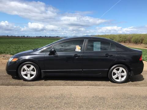 2007 Honda Civic for sale at M AND S CAR SALES LLC in Independence OR
