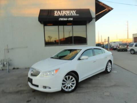 2013 Buick LaCrosse for sale at FAIRWAY AUTO SALES, INC. in Melrose Park IL