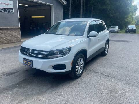 2014 Volkswagen Tiguan for sale at Boot Jack Auto Sales in Ridgway PA