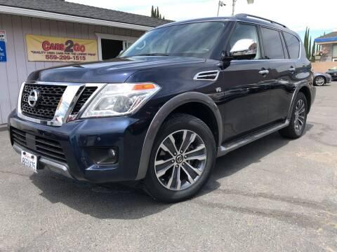 2019 Nissan Armada for sale at Cars 2 Go in Clovis CA