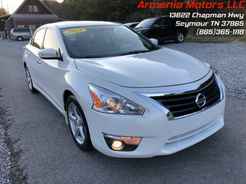 2015 Nissan Altima for sale at Armenia Motors in Seymour TN