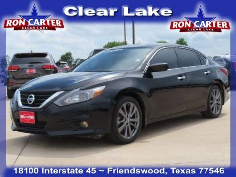 2018 Nissan Altima for sale at Ron Carter  Clear Lake Used Cars in Houston TX