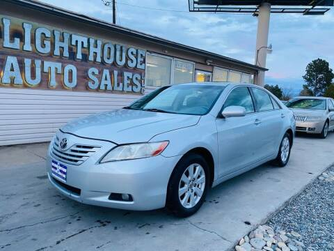 2007 Toyota Camry for sale at Lighthouse Auto Sales LLC in Grand Junction CO
