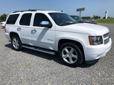 2013 Chevrolet Tahoe for sale at RAYMOND TAYLOR AUTO SALES in Fort Gibson OK
