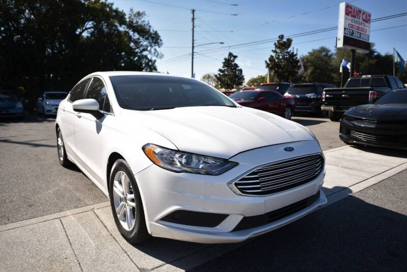 2018 Ford Fusion for sale at Grant Car Concepts in Orlando FL