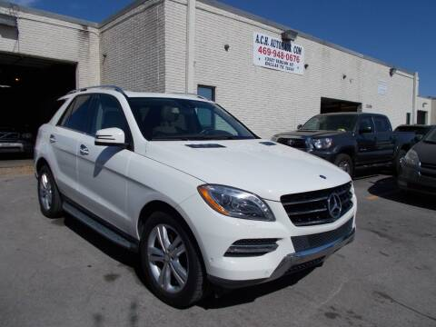 2013 Mercedes-Benz M-Class for sale at ACH AutoHaus in Dallas TX