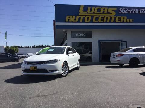 2015 Chrysler 200 for sale at Lucas Auto Center in South Gate CA