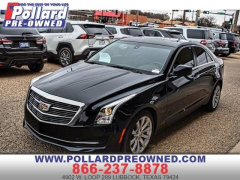 2018 Cadillac ATS for sale at South Plains Autoplex by RANDY BUCHANAN in Lubbock TX