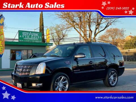 2013 Cadillac Escalade for sale at Stark Auto Sales in Modesto CA