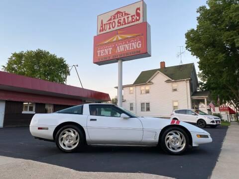 1996 Chevrolet Corvette for sale at Firl Auto Sales in Fond Du Lac WI