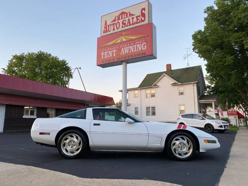 1996 Chevrolet Corvette for sale at Firl Auto Sales in Fond Du Lac WI
