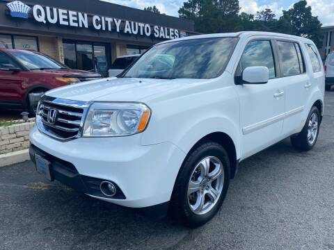 2012 Honda Pilot for sale at Queen City Auto Sales in Charlotte NC
