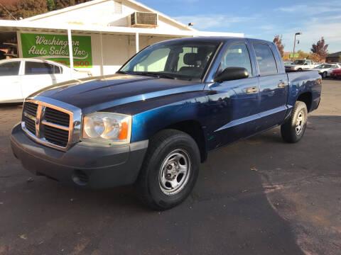 2005 Dodge Dakota for sale at Robert Judd Auto Sales in Washington UT