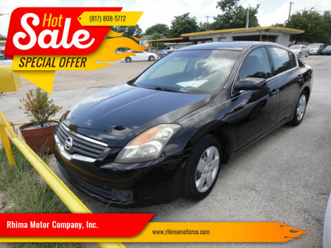 2008 Nissan Altima for sale at Rhima Motor Company, Inc. in Haltom City TX
