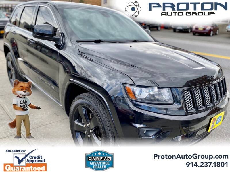 2014 Jeep Grand Cherokee for sale at Proton Auto Group in Yonkers NY