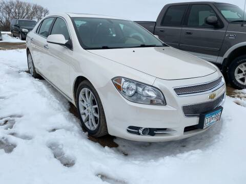 2011 Chevrolet Malibu for sale at RDJ Auto Sales in Kerkhoven MN