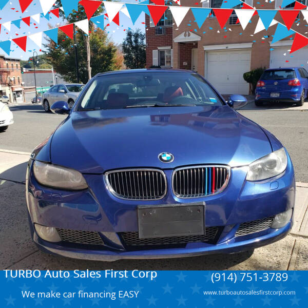 2007 BMW 3 Series for sale at TURBO Auto Sales First Corp in Yonkers NY