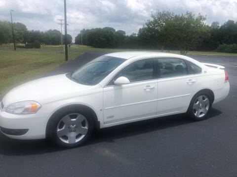 2008 Chevrolet Impala for sale at Douthit Automotive, LLC in Advance NC
