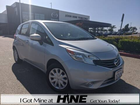 2016 Nissan Versa Note for sale at John Hine Temecula in Temecula CA