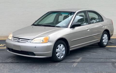 2002 Honda Civic for sale at Carland Auto Sales INC. in Portsmouth VA