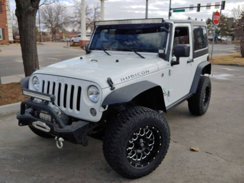 2016 Jeep Wrangler for sale at The Car Guy in Glendale CO