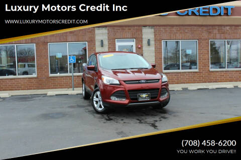 2016 Ford Escape for sale at Luxury Motors Credit Inc in Bridgeview IL