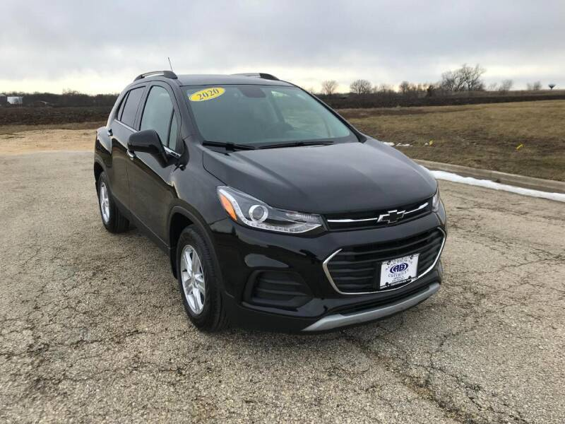 2020 Chevrolet Trax for sale at Alan Browne Chevy in Genoa IL