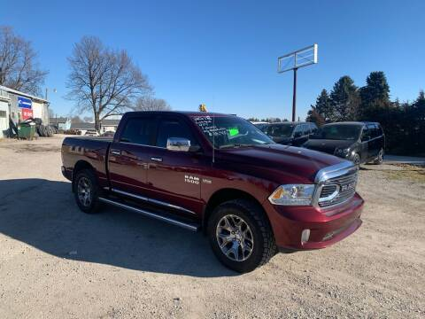 2018 RAM Ram Pickup 1500 for sale at GREENFIELD AUTO SALES in Greenfield IA