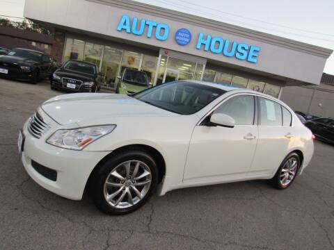 2008 Infiniti G35 for sale at Auto House Motors in Downers Grove IL