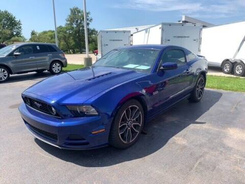 2013 Ford Mustang for sale at BORGMAN OF HOLLAND LLC in Holland MI