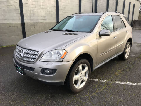 2008 Mercedes-Benz M-Class for sale at APX Auto Brokers in Lynnwood WA